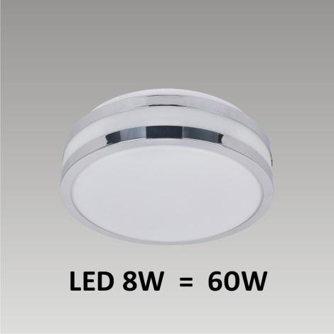 PREZENT LED49010 - NORD LED-es fürdőszobai mennyezeti lámpa1xLED/8W