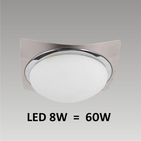 PREZENT LED49013 - LENS LED-es fali/mennyezeti lámpa 1xLED/8W 170mm