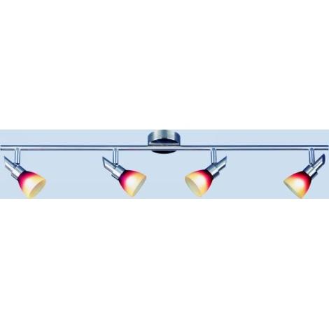 PRISMA mennyezeti egyenes spotlámpa 4xG9/40W