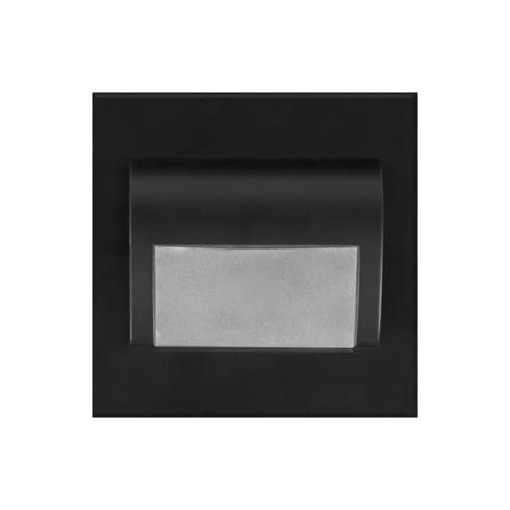ProVero ID-1152 - LED Lépcsőmegvilágítás DECORUS LED/1,2W/12V fekete