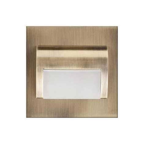 ProVero ID-1154 - LED Lépcsőmegvilágítás DECORUS LED/1,2W/12V bronz