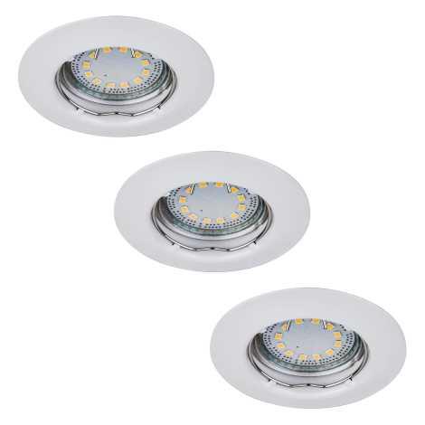 Rabalux 1046 - Készlet 3x LED beépíthető lámpa LITE 3xGU10-LED/3W/230V