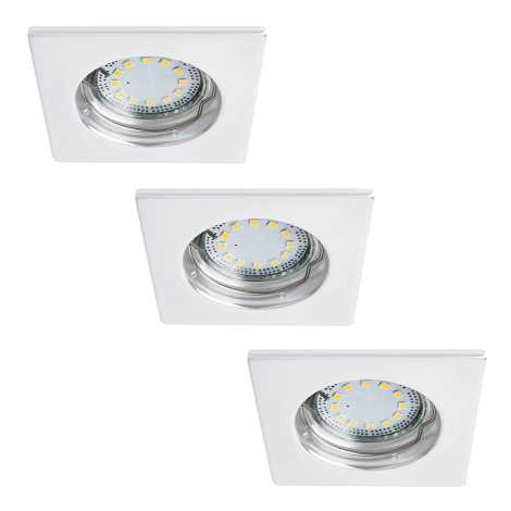 Rabalux 1052 - SADA 3x LED Beépíthető lámpa LITE 3xGU10-LED/3W/230V