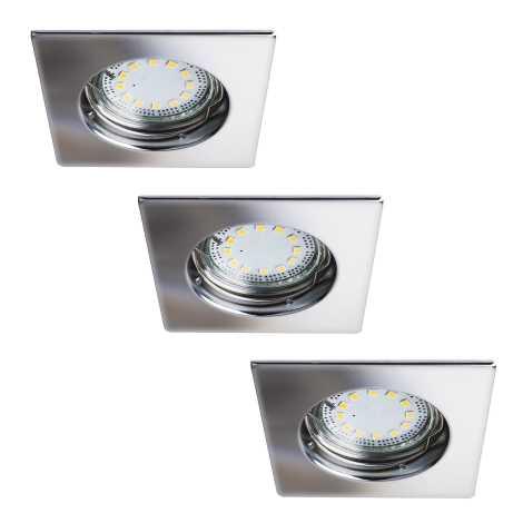 Rabalux 1053 - SET 3x LED Beépíthető lámpa LITE 3xGU10-LED/3W/230V