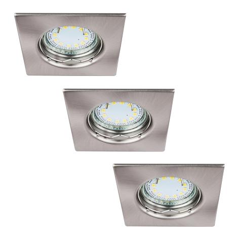 Rabalux 1054 - SET 3x LED Beépíthető lámpa LITE 3xGU10-LED/3W/230V