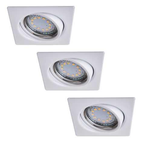 Rabalux 1055 - SET 3x LED Beépíthető lámpa LITE 3xGU10-LED/3W/230V