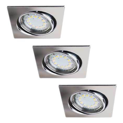 Rabalux 1056 - SET 3x LED Beépíthető lámpa LITE 3xGU10-LED/3W/230V