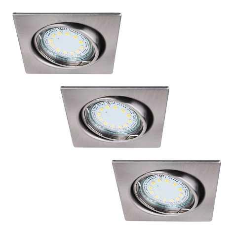 Rabalux 1057 - SET 3x LED Beépíthető lámpa LITE 3xGU10-LED/3W/230V