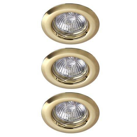 Rabalux 1102 - SADA 3x Beépíthető lámpa SPOT LIGHT 3xGU10/50W/230V
