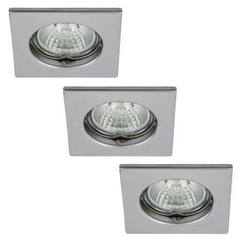 Rabalux 1113 - SADA 3x Beépíthető lámpa SPOT LIGHT 3xGU10/50W/230V