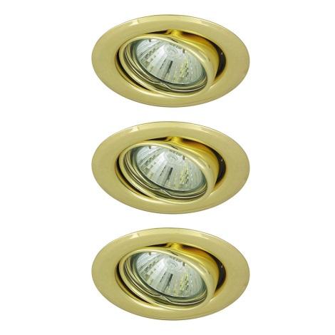 Rabalux 1122 - SADA 3x Beépíthető lámpa SPOT LIGHT 3xGU10/50W/230V