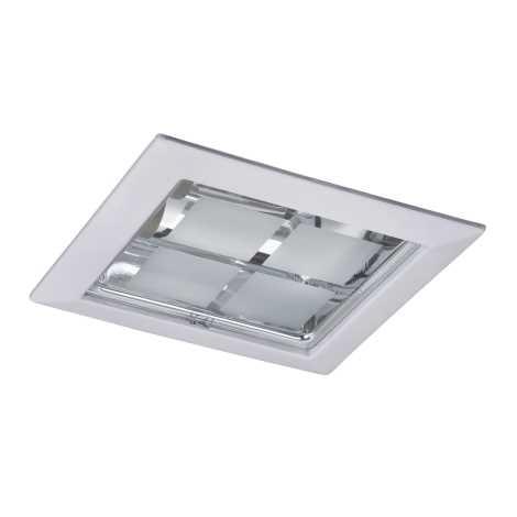 Rabalux 1131 - Beépíthető lámpa SPOT OFFICE 2xE27/26W/230V