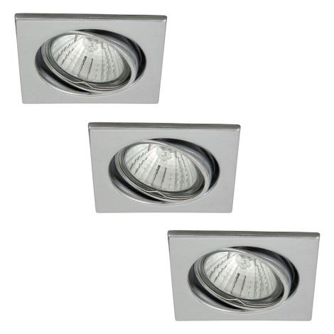 Rabalux 1133 - SADA 3x Beépíthető lámpa SPOT LIGHT 3xGU10/50W/230V