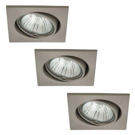 Rabalux 1134 - SADA 3x Beépíthető lámpa SPOT LIGHT 3xGU10/50W/230V