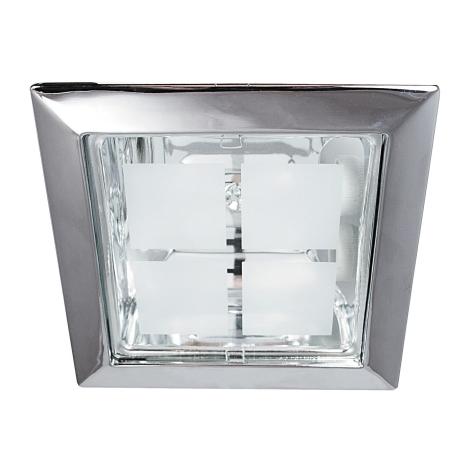 Rabalux 1150 - Beépíthető lámpa SPOT OFFICE 2xE27/26W/230V