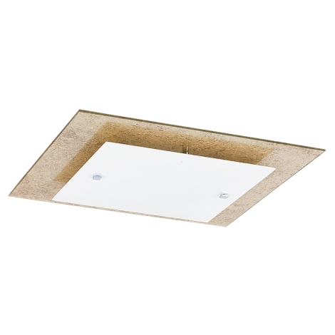 Rabalux 2459 - Mennyezeti lámpa JADE GOLD 2xE27/28W/230V