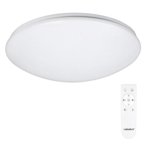 Rabalux 2636 - LED mennyezeti lámpa távirányítóval OLLIE 1xLED/40W/230V