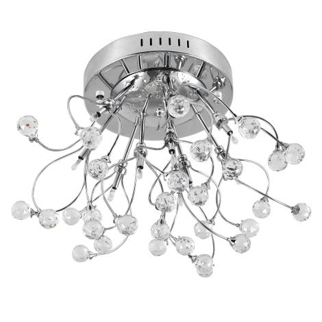 Rabalux 2825 - Mennyezeti lámpa AMELIA 10xG4/10W/230V