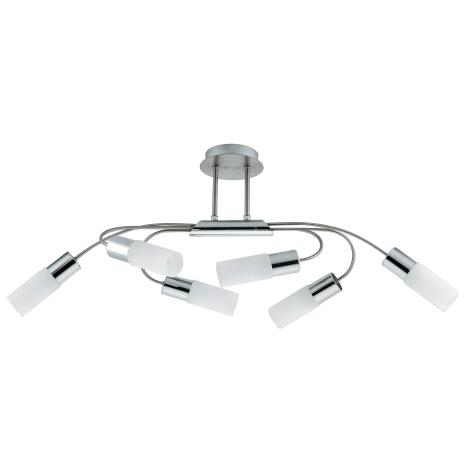 Rabalux 2885 - Mennyezeti lámpa LEO 6xE14/9W/230V