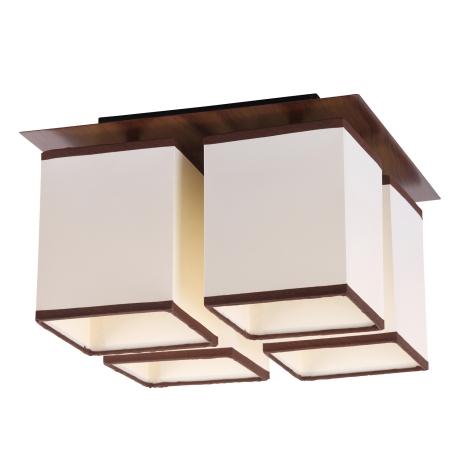 Rabalux 2897 - Mennyezeti lámpa KUBU 4xE14/40W/230V