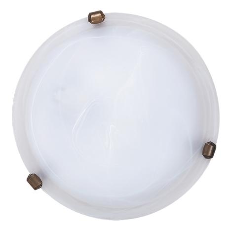 Rabalux 3203 - Mennyezeti lámpa ALABASTRO 1xE27/60W/230V