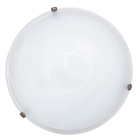 Rabalux 3739 - Mennyezeti lámpa ALABASTRO 3xE27/40W/230V