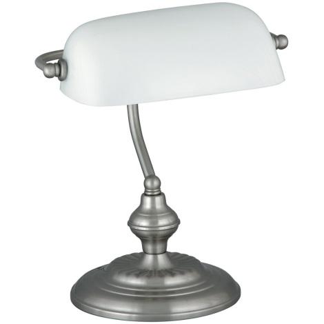 Rabalux 4037 - Asztali lámpa BANK 1xE27/60W/230V