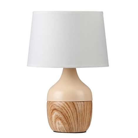 Rabalux 4370 - Asztali lámpa YVETTE 1xE14/40W/230V