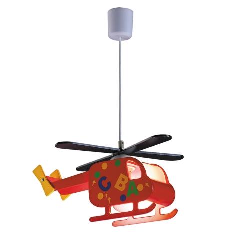 Rabalux 4717 - Gyereklámpa HELICOPTER 1xE27/40W/230V