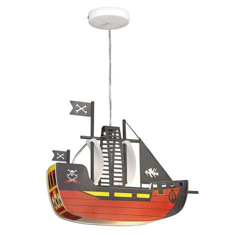 Rabalux 4719 - Gyereklámpa SHIP 1xE27/40W/230V