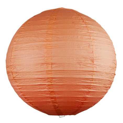 Rabalux 4896 - Lámpabúra RICE narancs átmérő 40 cm