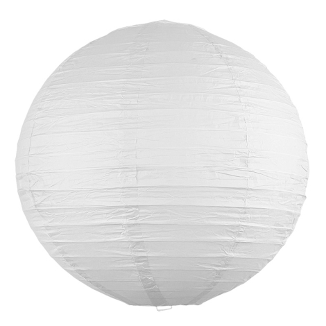 Rabalux 4898 - Lámpaernyő RICE fehér