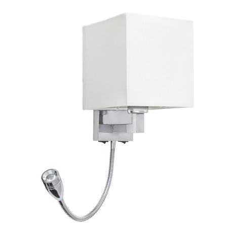 Rabalux 6530 - LED Fali lámpa LARKIN 1xE27/40W+LED/3W
