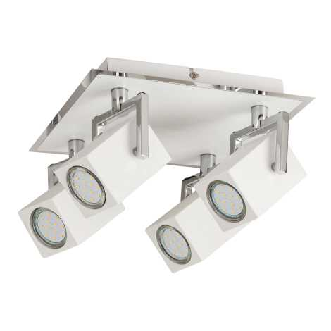 Rabalux 6740 - LED Spotlámpa NARA 4xGU10/4,5W/230V
