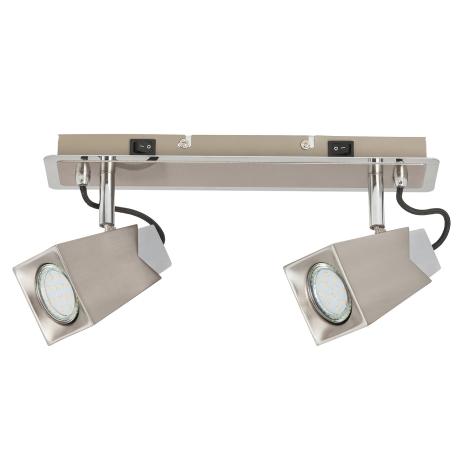 Rabalux 6746 - LED Spotlámpa RADA 2xGU10/4,5W/230V