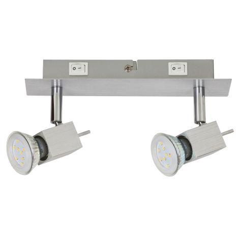 Rabalux 6758 - LED Spotlámpa 2xGU10/5W/230V