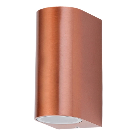 Rabalux 8100 - Kültéri fali lámpa CHILE 2xGU10/35W/230V