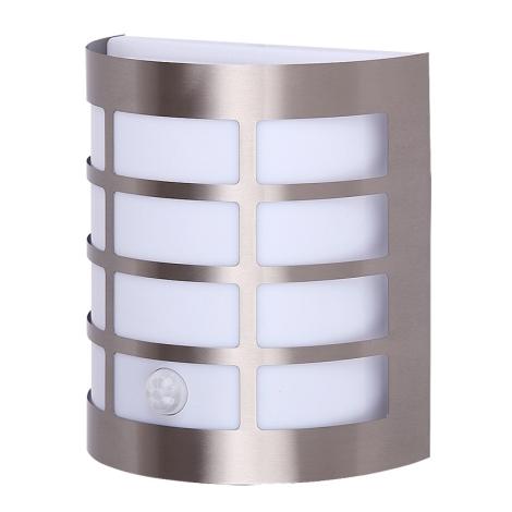 Rabalux 8200 - Kültéri fali lámpa a mozgásérzékelős SEVILLA 1xE27/11W/230V