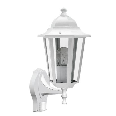 Rabalux 8216 - Kültéri fali lámpa a mozgásérzékelős VELENCE 1xE27/60W/230V