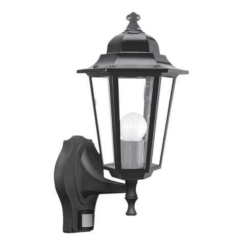 Rabalux 8217 - Kültéri fali lámpa a mozgásérzékelős VELENCE 1xE27/60W/230V