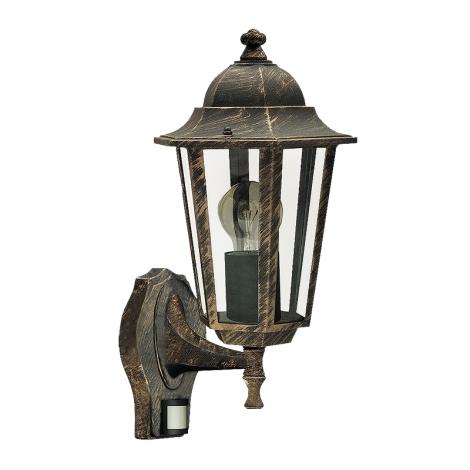 Rabalux 8218 - Kültéri fali lámpa a mozgásérzékelős VELENCE 1xE27/60W/230V