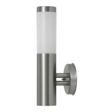 Rabalux 8262 - Fali lámpa INOX TORCH 1xE27/60W
