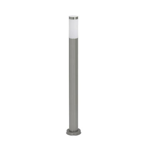 Rabalux 8265 - Kültéri állólámpa INOX TORCH 1xE27/60W