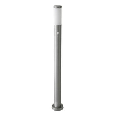 Rabalux 8268 - Érzékelős kültéri lámpa INOX TORCH 1xE27/60W