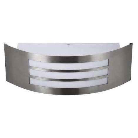 Rabalux 8410 - Fali lámpa ROMA 1xE27/14W rozsdamentes acél