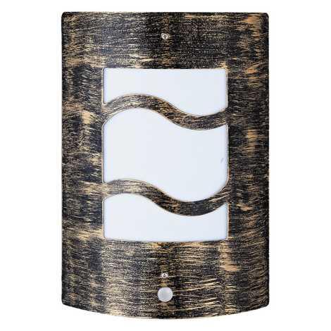 Rabalux 8518 - Kültéri fali lámpa a mozgásérzékelős DENVER 4 1xE27/60W/230V
