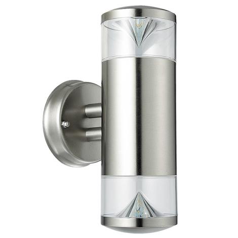 Rabalux 8560 - Kültéri fali lámpa CHARLOTTE 2xGU10/4,5W/230V