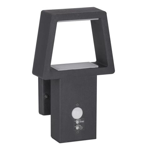 Rabalux 8668 - Kültéri fali lámpa a mozgásérzékelős ARIZONA 1xLED/10,5W/230V