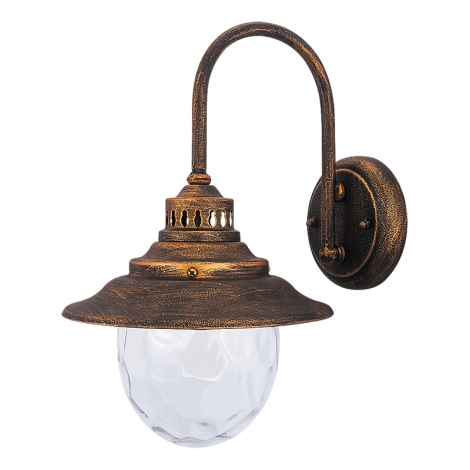 Rabalux 8677 - Kültéri fali lámpa BARCELONA 1xE27/60W/230V
