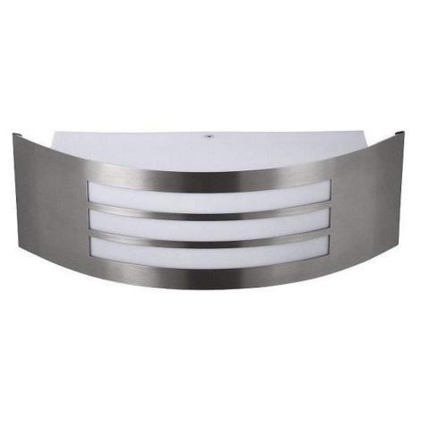 Rabalux - Fali lámpa 1xE27/14W rozsdamentes acél